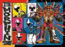 Power Rangers 4 In 1 JIGSAW - Ninja Steel - 100 Piece Ravensburger